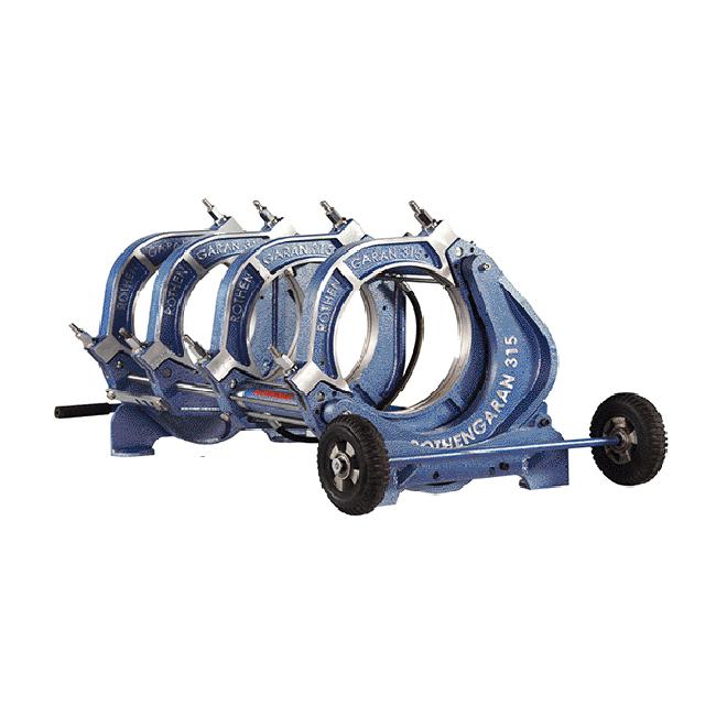 دستگاه جوش پلی اتیلن تمام هیدرولیک 315
