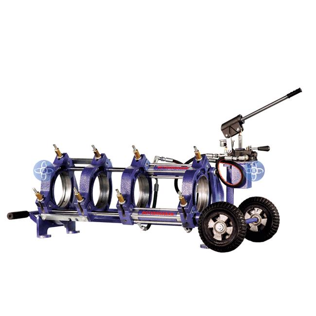 دستگاه جوش پلی اتیلن نیمه هیدرولیک 160