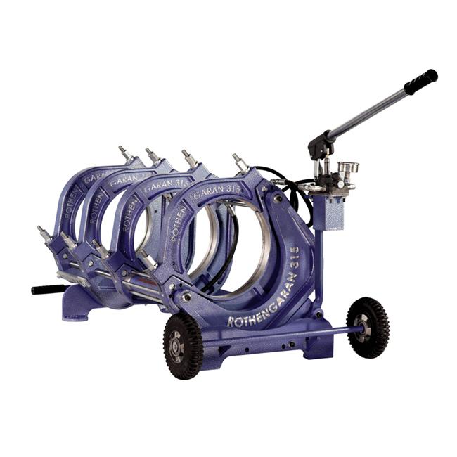 دستگاه جوش پلی اتیلن نیمه هیدرولیک 315