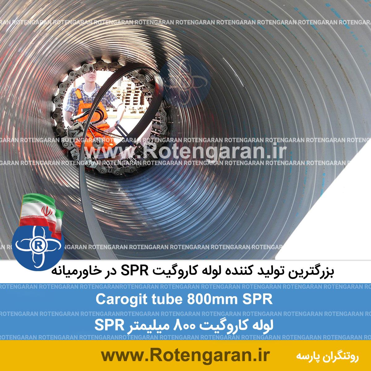 لوله کاروگیت SPR